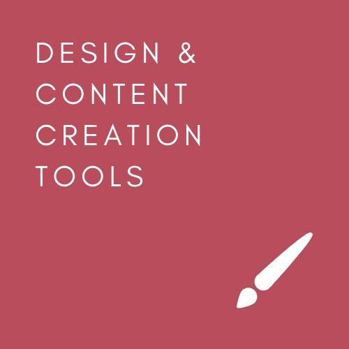 DESIGN / CONTENT CREATION TOOLS THAT IUSE