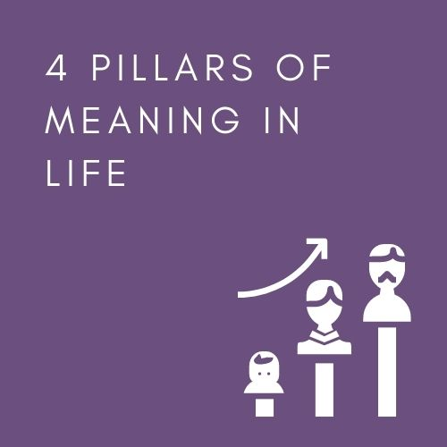 4 PILLARS OF MEANING IN LIFE